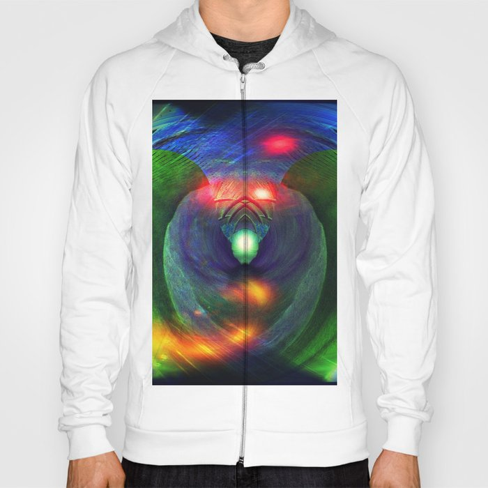 Bird of Prey Abstract Hoody