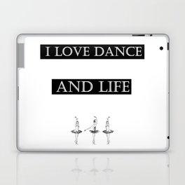 i love... black2 ( https://society6.com/vickonskey/collection ) Laptop & iPad Skin