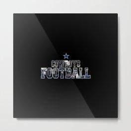 Football Cowboys Metal Print