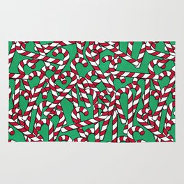 Candy Canes Rug