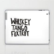 Whiskey Tango Foxtrot Laptop & iPad Skin