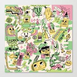 Memory Junk Canvas Print
