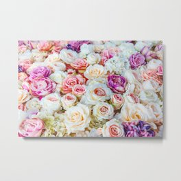 Colorful Roses Metal Print