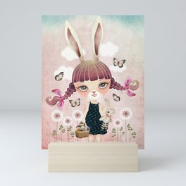 Sugar Bunny Mini Art Print