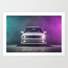 God's Chariot Art Print