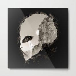 Alien´s Head Metal Print