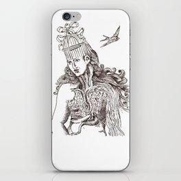 unlocking birds iPhone Skin