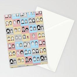 Sad Movie Couples Stationery Cards