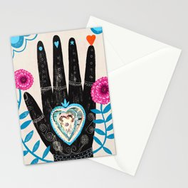 Heart in your hand Stationery Cards