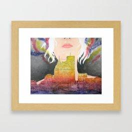 Constructing Dreams Framed Art Print
