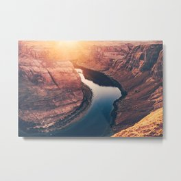 Horseshoe Bend II Metal Print