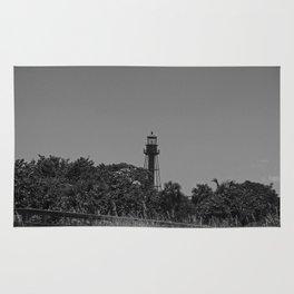Sanibel Lighthouse in Summer Rug