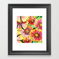 Beautiful flowers Framed Art Print