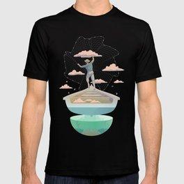 Clouds fisherman T-shirt