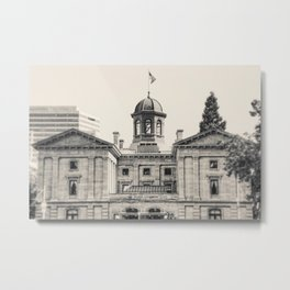 Pioneer Courthouse Metal Print
