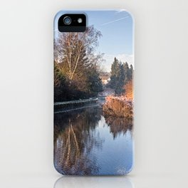 Loose Mill Pond iPhone Case