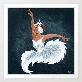 Swan Queen Art Print
