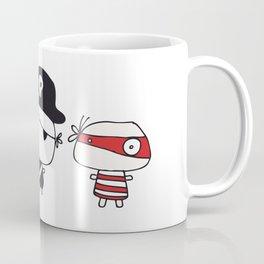 Three Pirates Coffee Mug
