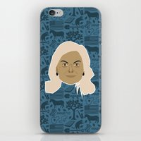 leslie knope iPhone & iPod Skins featuring Leslie Knope - Parks and recreation by Kuki