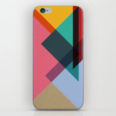 Triangles (Part 2) iPhone Skin