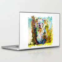 koala Laptop & iPad Skins featuring Koala  by ururuty