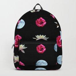 Lotus Rose Moon Backpack