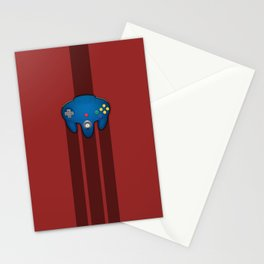 N64 PAD Blue Stationery Cards