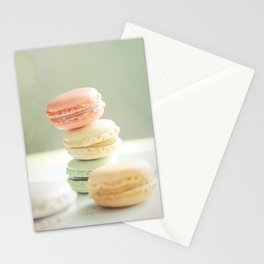 Pretty Macarons Stationery Cards