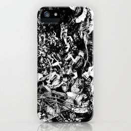 Smoldering in the Blackest Caverns iPhone Case