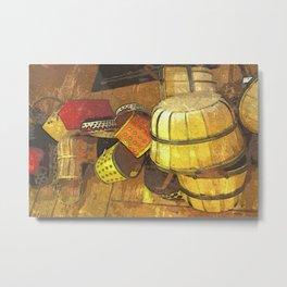 A Tisket A Tasket DPPA151019a Metal Print