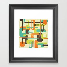 Old Skool Framed Art Print
