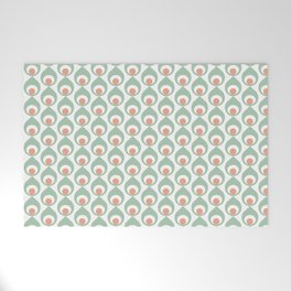 Retro Avocado Muted Welcome Mat