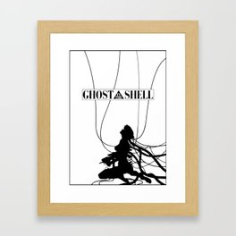Ghost In The Shell (w/ Frame) Framed Art Print