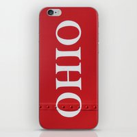 ohio iPhone & iPod Skins featuring OHIO by Leah M. Gunther Photography & Design