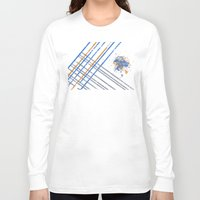 grid Long Sleeve T-shirts featuring Grid by Last Call