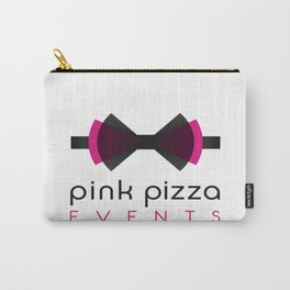 Pink Pizza Events Logo Carry-All Pouch