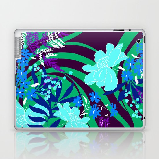 The Flower Journey Laptop & iPad Skin
