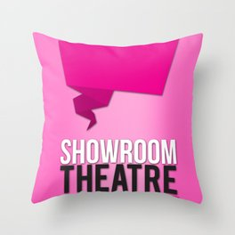 Showroom Theatre Throw Pillow