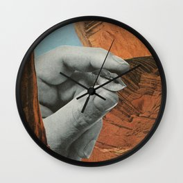 Curio Coulee {3} Wall Clock