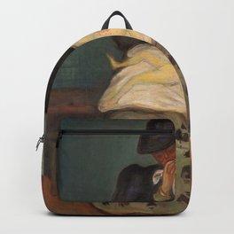 Edvard Munch - Inheritance - Digital Remastered Edition Backpack
