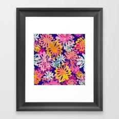 FlowerHex Framed Art Print
