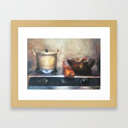 The Gas Cooker Framed Art Print