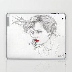 GIRL With The CIGARETTE Laptop & iPad Skin