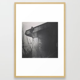 End of the Line Framed Art Print