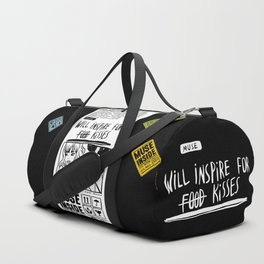 Will Inspire For Kisses Duffle Bag