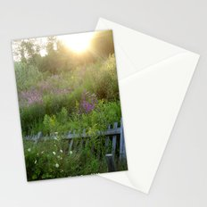 August coming undone Stationery Cards