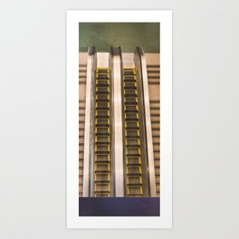 Electric Stairs Art Print
