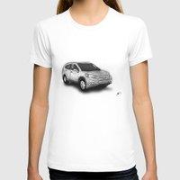 honda T-shirts featuring Honda CR-V by Jens Buch Designs