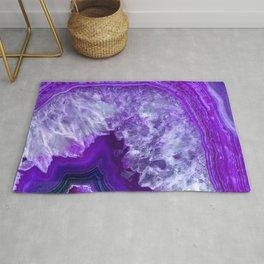 purple stone Rug