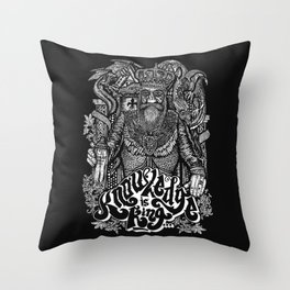 Knowledge is King... Throw Pillow
